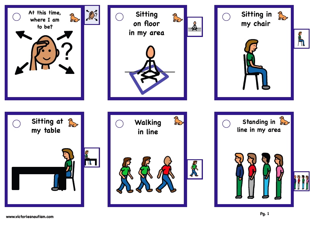 photo relating to Picture Cards for Autism Printable called Interaction Behavioral Cues